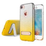 Чехол G-Case Sparking Plus Series для Apple iPhone 7 (золотистый, гелевый)