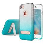 Чехол G-Case Sparking Plus Series для Apple iPhone 7 (голубой, гелевый)
