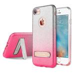 Чехол G-Case Sparking Plus Series для Apple iPhone 7 (розовый, гелевый)