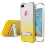 Чехол G-Case Sparking Plus Series для Apple iPhone 7 plus (золотистый, гелевый)