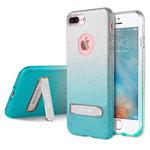 Чехол G-Case Sparking Plus Series для Apple iPhone 7 plus (голубой, гелевый)