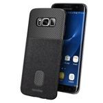 Чехол Seedoo Honor case для Samsung Galaxy S8 plus (черный, кожаный)