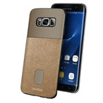Чехол Seedoo Honor case для Samsung Galaxy S8 plus (золотистый, кожаный)
