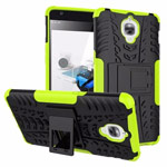 Чехол Yotrix Shockproof case для OnePlus 3 (зеленый, пластиковый)