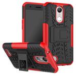 Чехол Yotrix Shockproof case для LG K10 2017 (красный, пластиковый)