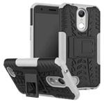 Чехол Yotrix Shockproof case для LG K10 2017 (белый, пластиковый)