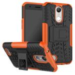 Чехол Yotrix Shockproof case для LG K10 2017 (оранжевый, пластиковый)