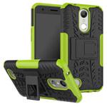 Чехол Yotrix Shockproof case для LG K10 2017 (зеленый, пластиковый)