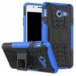 Чехол Yotrix Shockproof case для Samsung Galaxy J7 2017 (синий, пластиковый)