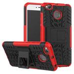 Чехол Yotrix Shockproof case для Xiaomi Redmi 4X (красный, пластиковый)