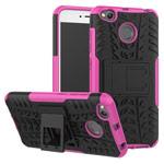 Чехол Yotrix Shockproof case для Xiaomi Redmi 4X (розовый, пластиковый)