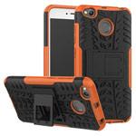 Чехол Yotrix Shockproof case для Xiaomi Redmi 4X (оранжевый, пластиковый)