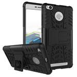 Чехол Yotrix Shockproof case для Xiaomi Redmi 3 Pro (черный, пластиковый)