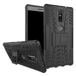 Чехол Yotrix Shockproof case для Lenovo Phab2 plus (черный, пластиковый)