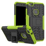 Чехол Yotrix Shockproof case для Huawei P10 lite (зеленый, пластиковый)