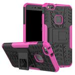 Чехол Yotrix Shockproof case для Huawei P10 lite (розовый, пластиковый)
