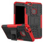 Чехол Yotrix Shockproof case для Huawei P10 lite (красный, пластиковый)