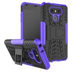 Чехол Yotrix Shockproof case для LG G6 (фиолетовый, пластиковый)