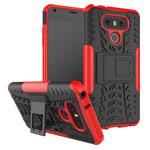 Чехол Yotrix Shockproof case для LG G6 (красный, пластиковый)