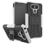 Чехол Yotrix Shockproof case для LG G6 (белый, пластиковый)