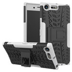 Чехол Yotrix Shockproof case для Sony Xperia XZ premium (белый, пластиковый)