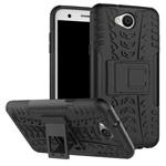 Чехол Yotrix Shockproof case для LG X power 2 (черный, пластиковый)