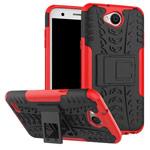 Чехол Yotrix Shockproof case для LG X power 2 (красный, пластиковый)
