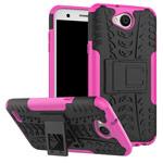 Чехол Yotrix Shockproof case для LG X power 2 (розовый, пластиковый)