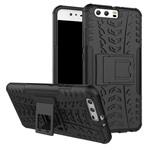 Чехол Yotrix Shockproof case для Huawei P10 (черный, пластиковый)