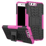 Чехол Yotrix Shockproof case для Huawei P10 (розовый, пластиковый)