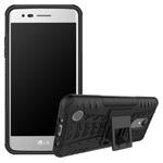 Чехол Yotrix Shockproof case для LG K8 2017 (черный, пластиковый)