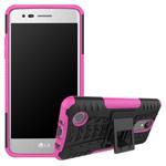 Чехол Yotrix Shockproof case для LG K8 2017 (розовый, пластиковый)