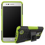 Чехол Yotrix Shockproof case для LG K8 2017 (зеленый, пластиковый)