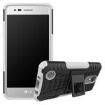 Чехол Yotrix Shockproof case для LG K8 2017 (белый, пластиковый)