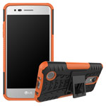 Чехол Yotrix Shockproof case для LG K8 2017 (оранжевый, пластиковый)