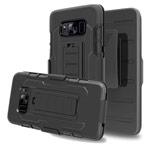 Чехол Yotrix ClipCase case для Samsung Galaxy S8 plus (черный, пластиковый)