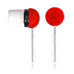 Наушники OUNUO iFrog 8000 (без микрофона) (20-20000 Гц, 8 мм) (красные)