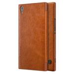 Чехол Nillkin Qin leather case для Sony Xperia XA1 ultra (коричневый, кожаный)