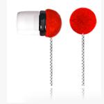 Наушники OUNUO iFrog I (без микрофона) (20-20000 Гц, 8 мм) (красные)