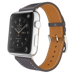 Ремешок для часов Kakapi Single Tour Band для Apple Watch (42 мм, серый, кожаный)