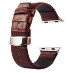 Ремешок для часов Kakapi Watch Strap Set для Apple Watch (42 мм, коричневый, кожаный)