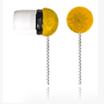 Наушники OUNUO iFrog I (без микрофона) (20-20000 Гц, 8 мм) (желтые)