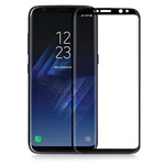 Защитная пленка Yotrix 3D Pro Glass Protector для Samsung Galaxy S8 plus (стеклянная, черная)