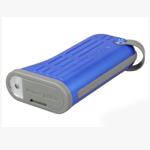 Внешняя батарея Momax iPower Tough универсальная (microUSB, 30pin) (6000 mAh) (синяя)