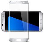 Защитная пленка Yotrix 3D Glass Protector для Samsung Galaxy S7 edge (стеклянная, серебристая)