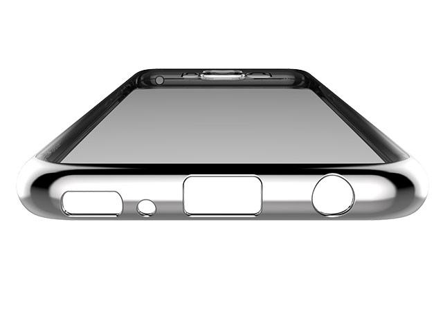 Чехол Devia Glitter Soft case для Samsung Galaxy S8 plus (Silver, гелевый)