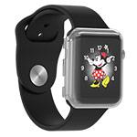 Чехол Devia Smart case для Apple Watch Series 2 (38 мм, прозрачный, пластиковый)