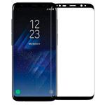 Защитная пленка Devia 3D Curved Tempered Glass для Samsung Galaxy S8 plus (стеклянная, черная)