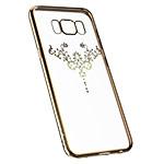 Чехол Devia Iris case для Samsung Galaxy S8 (Champagne Gold, гелевый)