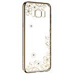 Чехол Devia Crystal Joyous для Samsung Galaxy S8 plus (Champagne Gold, пластиковый)